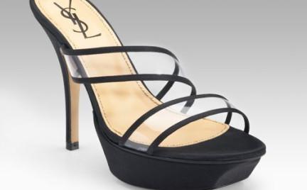 Pantofle Yves Saint Laurent