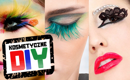 Zrób to sama Kosmetyczne DIY: rzęsy z piór i koronek