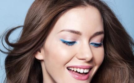 Beauty Info: niebieska kreska na dolnej powiece