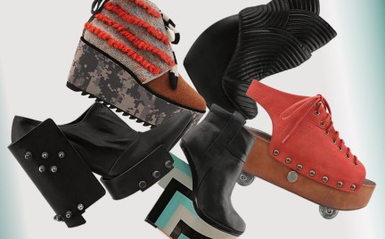 Co o nich myślicie: ekstrawaganckie buty z Solestruck