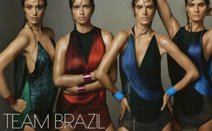 Top 5. Brazylijskie top modelki