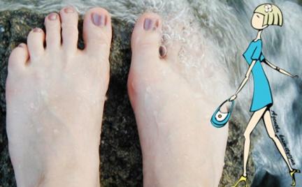 Kosmetyczna Agentka: letnia pielęgnacja stóp