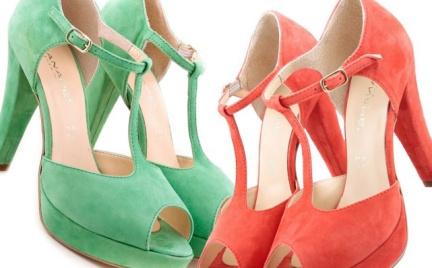 Cukierkowa moda: skórzane sandały Canape