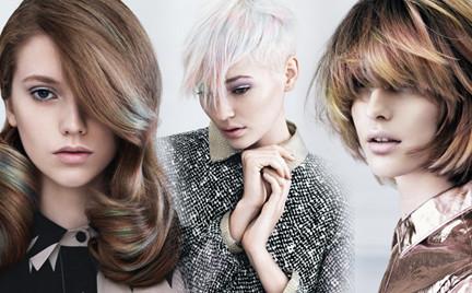 Perłowe fryzury - kolekcja Davines jesień zima 2014