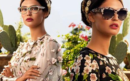 Piękna Bianca Balti w okularach Dolce Gabbana