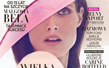 Małgosia Bela na okładce polskiego Harper s Bazaar i nie tylko