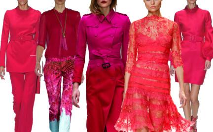 Moda z wybiegów: dużo różu. Przegląd dostępnych kolekcji.