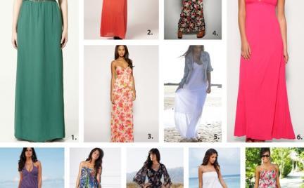 Kupujemy: sukienki maxi
