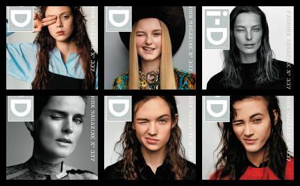 Plejada modelek na jubileuszowych okładkach magazynu i-D