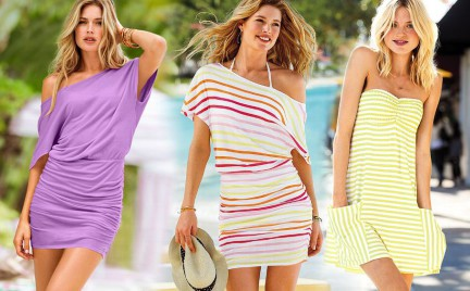 Plażowe sukienki Victoria s Secret