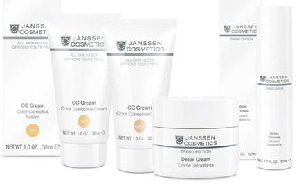 Linia tygodnia: ochrona z Janssen Cosmetics