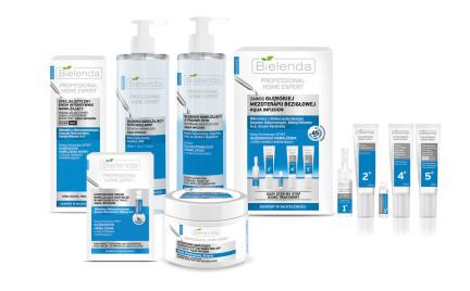 Linia tygodnia: Bielenda Professional Home Expert Aqua Infusion