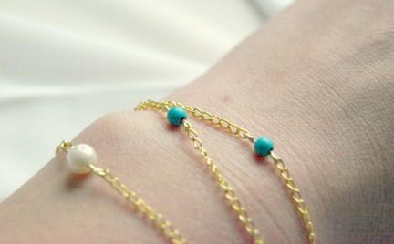DIY: biżuteria z łańcuszka