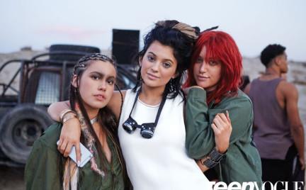 Kylie Jenner w sesji okładkowej dla Teen Vogue