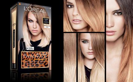 Kosmetyk tygodnia: farby L Oreal Preference Wild Ombres