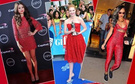 Która lepiej: Jessica Chastain Rihanna czy Selena Gomez