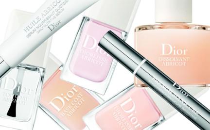 Luksusowa seria do paznokci - Abricot Manicure Dior