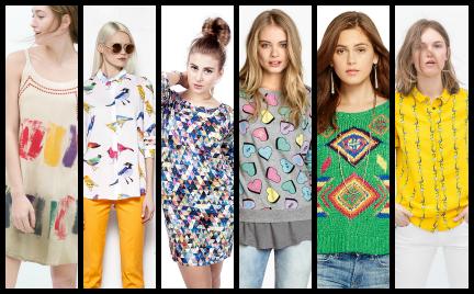 Kupujemy: Wzorzyste ubrania na wiosnę. Propozycje dla antyfanek kwiatów