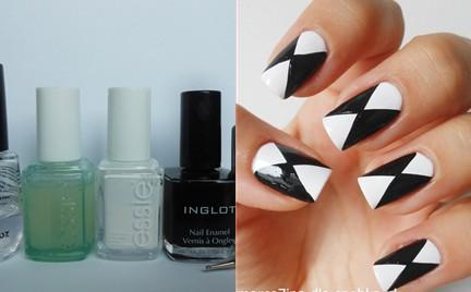 Manicure krok po kroku: Geometria