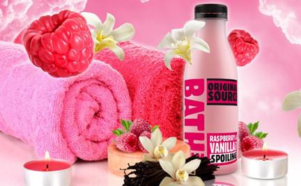 Kosmetyk tygodnia: płyn do kąpieli Original Source Raspberry Vanilla Milk