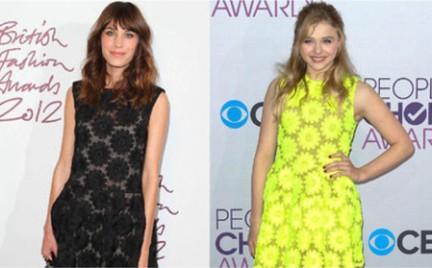 Która lepiej: Chloe Moretz czy Alexa Chung
