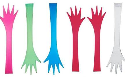 Pomocne dłonie - sztućce do sałaty Zak