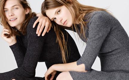 Ciepła wełna w odcieniach szarości czyli listopadowe nowości w sklepach Zara