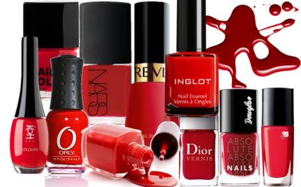 Trend na teraz: czerwony lakier do paznokci