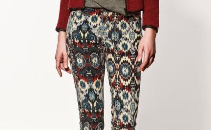W stylu etno: spodnie Zara