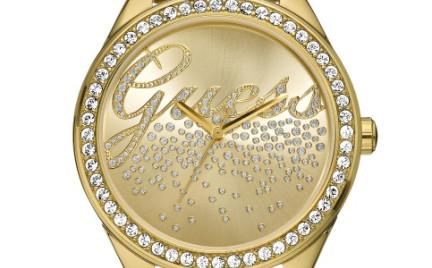 Złoty zegarek który pomaga innym