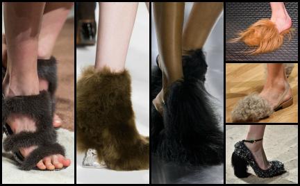 Hit czy kit: włochate i futrzane buty