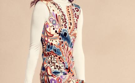 Sukienka H amp;M w stylu Diane von Furstenberg