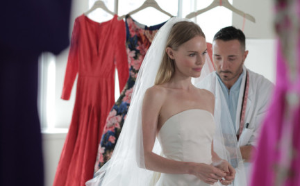 Suknia ślubna Kate Bosworth
