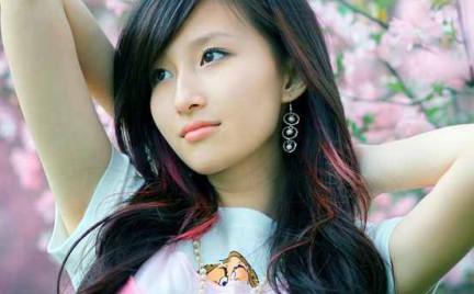 Piękne włosy Azjatek