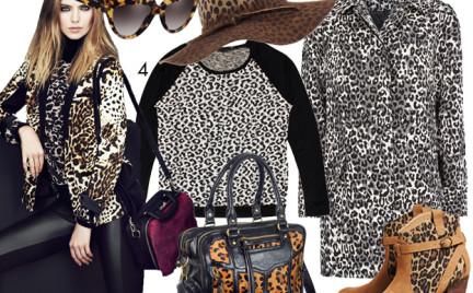 Kupujemy: jesienno-zimową garderobę w panterkę