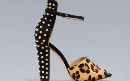 Zara: złote ćwieki i panterkowy wzór