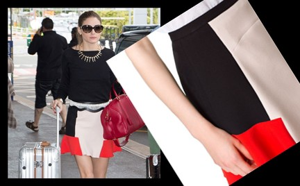 W stylu gwiazdy: Olivia Palermo w spódnicy Zara