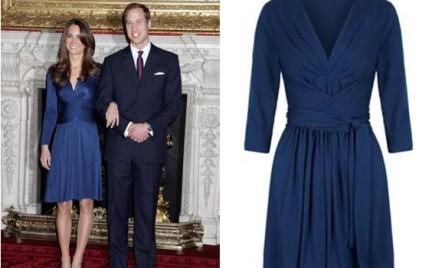 Banana Republic wprowadza na rynek tańszą wersję kultowej sukienki zaręczynowej Kate Middleton