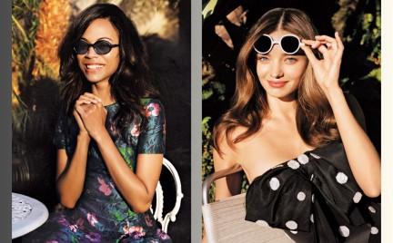 Gwiazdy noszą najmodniejsze okulary przeciwsłoneczne sezonu w sesji dla Vogue