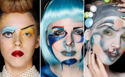 Inspiracje: Illamasqua Make-up Artistry Awards 2012
