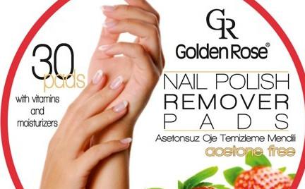Kosmetyk tygodnia: zmywacz do paznokci w płatkach Golden Rose
