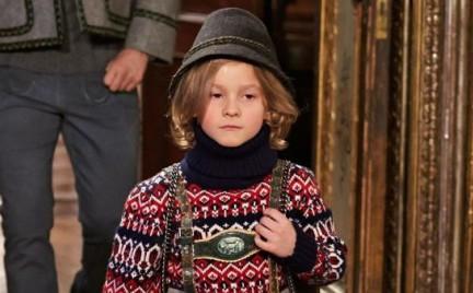 Karl Lagerfeld projektuje kolekcję dziecięcą: co za dużo to niezdrowo