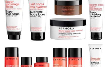 Seria czerwona do ciała Sephora