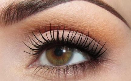 Makijaż: Poskromiony pomarańczowy