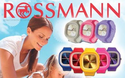 Promocja: Rossmann rozdaje zegarki jelly