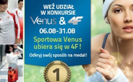Konkurs: Zostań sportową Venus w stroju od 4F