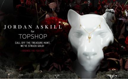 Hit Rzeźbiarska biżuteria w Topshopie