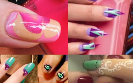10 pomysłów na szalony manicure