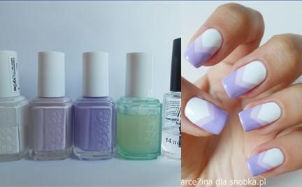 Manicure krok po kroku: Fiolet