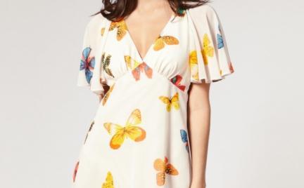 Hit lata: motyle na sukience Lipsy Butterfly